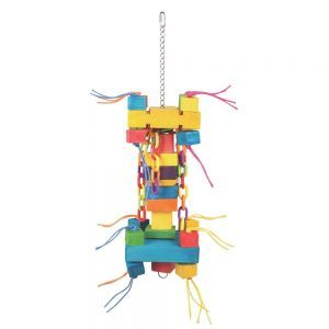 Chunky Chain Toy Huge Parrot Toy