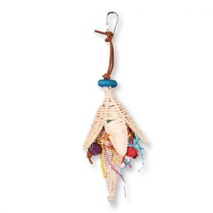 Rattan Flower Bird Toy