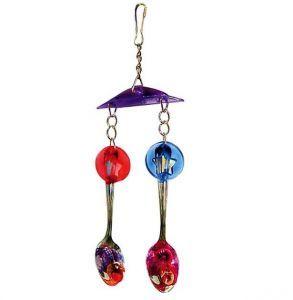 Shiny Spoons Medium Bird Toy