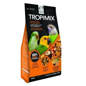 Hagen Hari Tropimix Small Parrot Food Mix 1.8kg