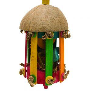 Tiki Hut Large Foraging Toy