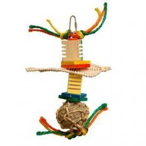 Boo Boo Seagrass & Wood Bird Toy