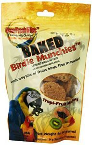 Oven Fresh Birdie Munchies Parrot Treat - Tropical Fruit 4oz