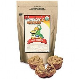 Harrison`s Bird Bread Mix Hot Pepper - Organic Parrot Treat 255g