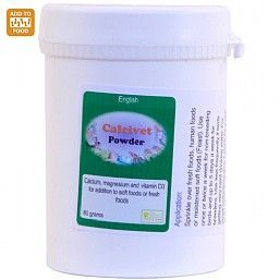 Calcivet Calcium On Food Powder 80g