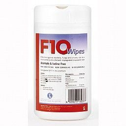 F10 Disinfectant Wipes Pack 100