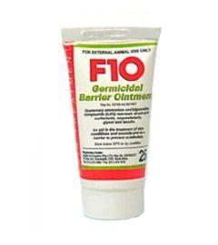 F10 Germicidal Barrier Ointment Bird Treatment 25g