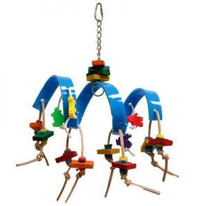 Tornado Acrylic Bird Toy