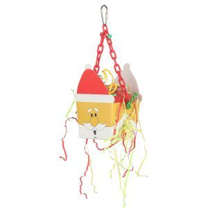 Santa Fun Foraging Box On Hanging Chain