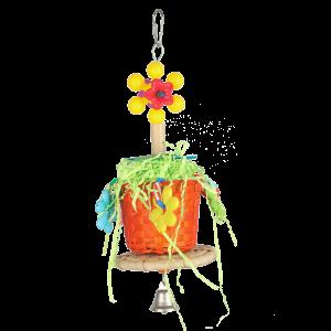 Pot Plant Fun Chewable Bird Toy