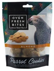 Oven Fresh Birdie Munchies Parrot Treat - Almond 4oz