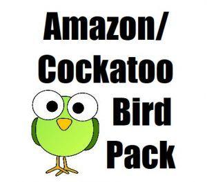 Amazon, Cockatoo Toy Pack