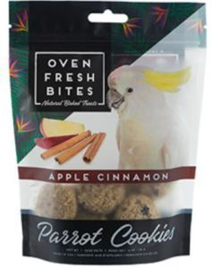 Oven Fresh Birdie Munchies Parrot Treat - Apple Cinnamon 4oz