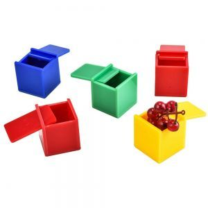 Coloured Cubes Game Medium Bird Puzzle Toy