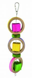 Spinning Rings Birdie Bagel Medium Toy