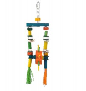 Water Wheel - Large Natural Bird Toy