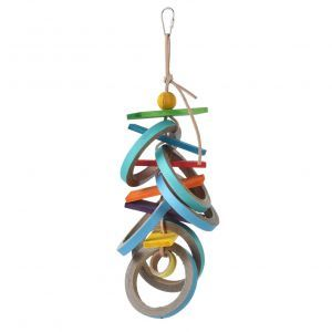 Birdy Bagel Buster - Large Bird Toy
