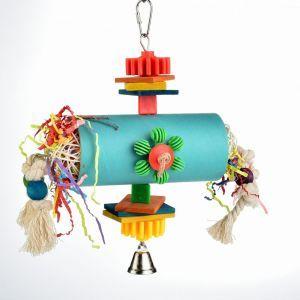 Bagel Tunnel Play - Foraging Bird Toy
