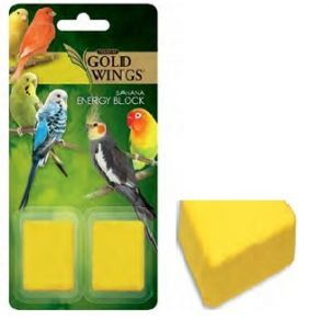 Gold Wings Small Bird Banana Energy Block