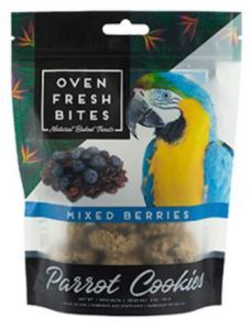 Oven Fresh Birdie Munchies Parrot Treat - Mixed Berries 4oz