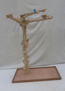 JAVA TREE - LARGE - NATURAL HARDWOOD PARROT PLAYSTAND BL60606