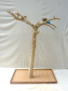 JAVA TREE - MEDIUM - NATURAL HARDWOOD PARROT PLAYSTAND BM50553