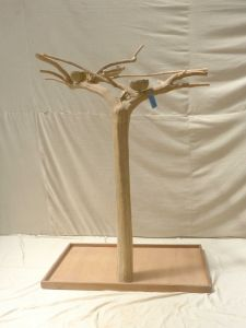 JAVA TREE - MEDIUM - NATURAL HARDWOOD PARROT PLAYSTAND BM50570
