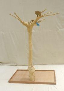 JAVA TREE - MEDIUM - NATURAL HARDWOOD PARROT PLAYSTAND BS40250