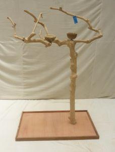 JAVA TREE - MEDIUM - NATURAL HARDWOOD PARROT PLAYSTAND BS40263