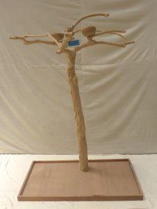 JAVA TREE - MEDIUM - NATURAL HARDWOOD PARROT PLAYSTAND BS40284