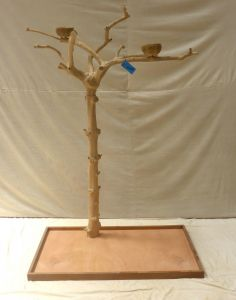 JAVA TREE - MEDIUM - NATURAL HARDWOOD PARROT PLAYSTAND BS40286