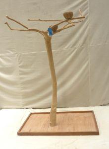 JAVA TREE - MEDIUM - NATURAL HARDWOOD PARROT PLAYSTAND BS40293