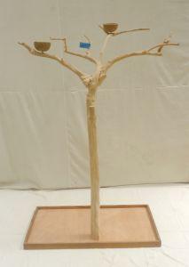 JAVA TREE - MEDIUM - NATURAL HARDWOOD PARROT PLAYSTAND BS40294