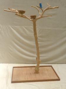 JAVA TREE - MEDIUM - NATURAL HARDWOOD PARROT PLAYSTAND BS40301