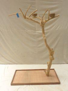 JAVA TREE - MEDIUM - NATURAL HARDWOOD PARROT PLAYSTAND BS40305