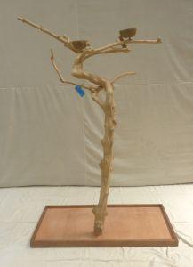 JAVA TREE - MEDIUM - NATURAL HARDWOOD PARROT PLAYSTAND BS40311