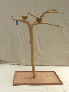 JAVA TREE - MEDIUM - NATURAL HARDWOOD PARROT PLAYSTAND BS40317