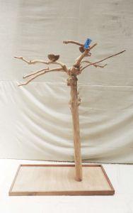 JAVA TREE - MEDIUM - NATURAL HARDWOOD PARROT PLAYSTAND BS40423