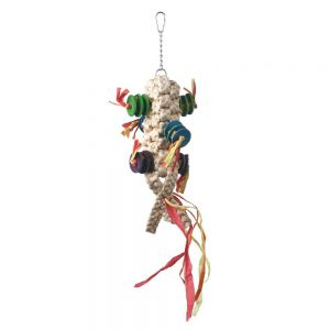 Macrame Chew Natural Bird Toy