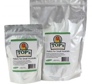 TOP`s Parrot Food - Small Pellets 12oz