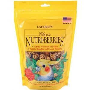 Lafeber NutriBerries Original Complete Cockatiel Food 284g