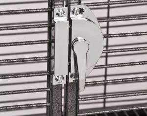 Cage Front Door Lock Rounded