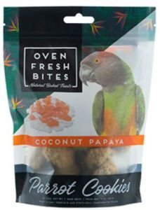 Oven Fresh Birdie Munchies Parrot Treat - Coconut & Papaya 4oz