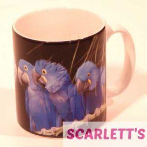 Mug Hyacinth Macaw