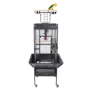 Liberta Eden Small Bird Cage With Play Top