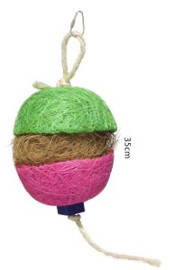 Cococ Colour Puff Forager Small Bird Toy