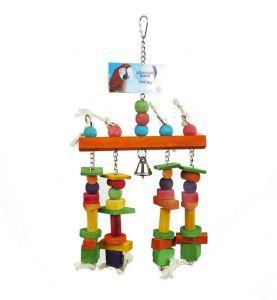 Hendrix Medium Wood Bird Toy