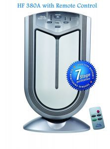 Heaven Fresh XJ-3800A Air Purifier with Remote
