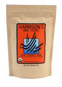 HARRISON`S HIGH POTENCY  FINE  - ORGANIC BIRD FOOD 50g Sample