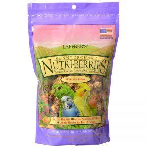 Lafeber NutriBerries Sunny Orchard Sm Parrot, Cockatiel 284g